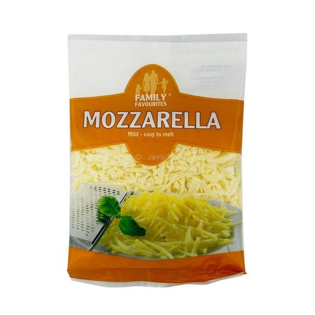 Family Favourites Grated Mozzarella Cheese 150g offers at RM 10.9