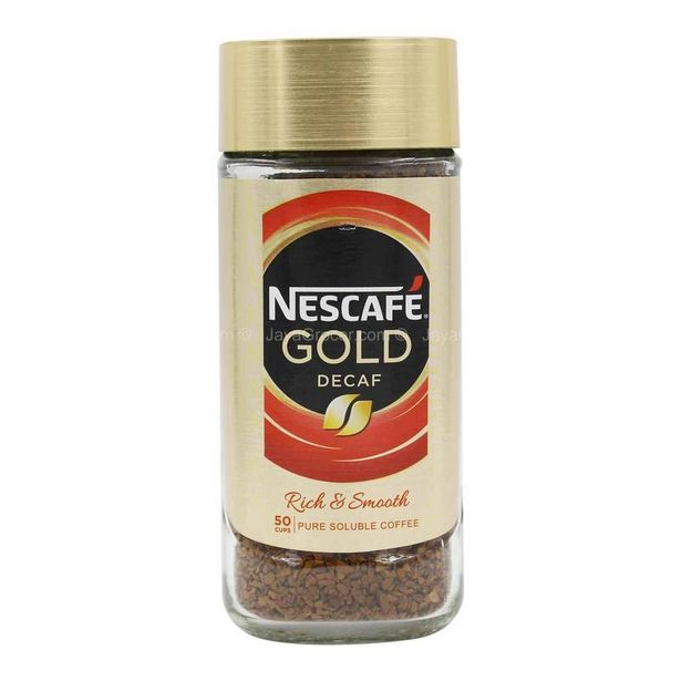 Nescafe Gold Blend Decaf 100g offers at RM 19.9