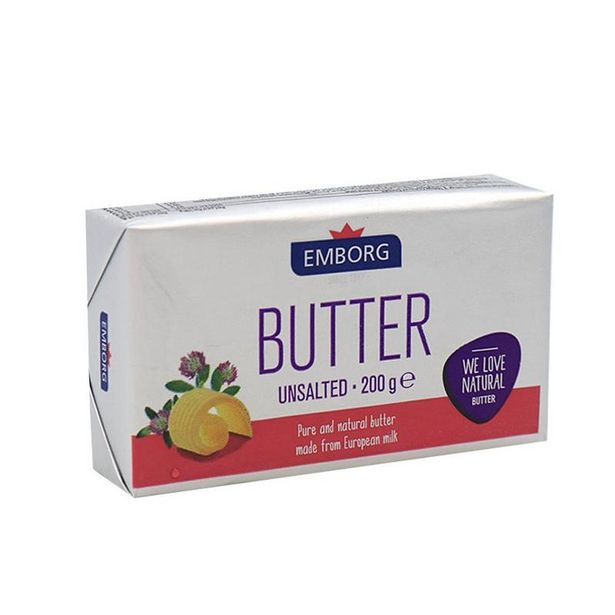 Emborg Unsalted Butter 200g offers at RM 11.65