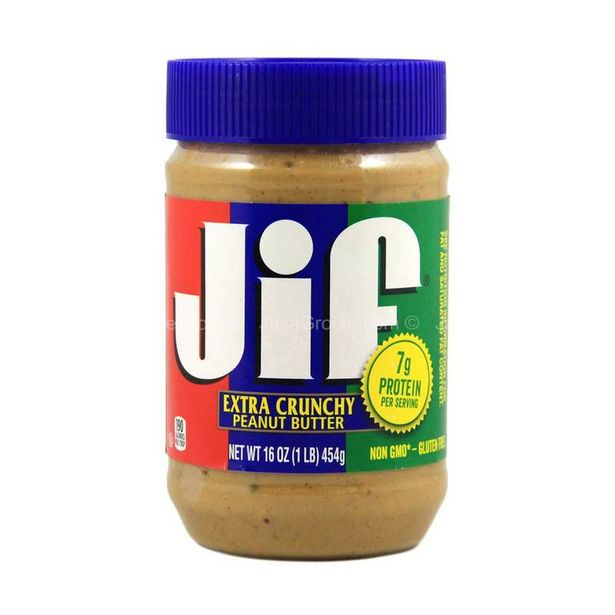 Jif Peanut Butter Crunchy 454g offers at RM 13.99