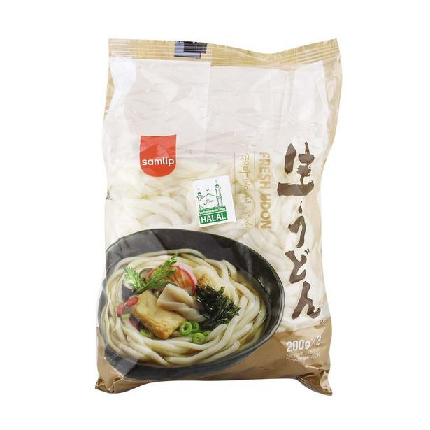 SAMLIP FRESH UDON 3SX200G offers at RM 8.5