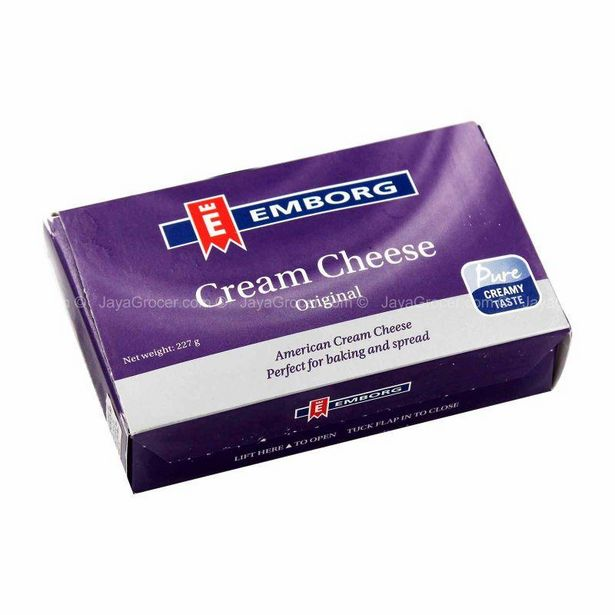 Emborg Cream Cheese 227g offers at RM 11.8
