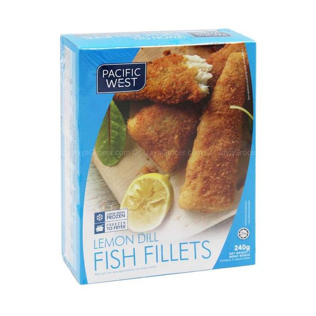Pacific West Lemon Dill Fish Fillets 240g offers at RM 13.6