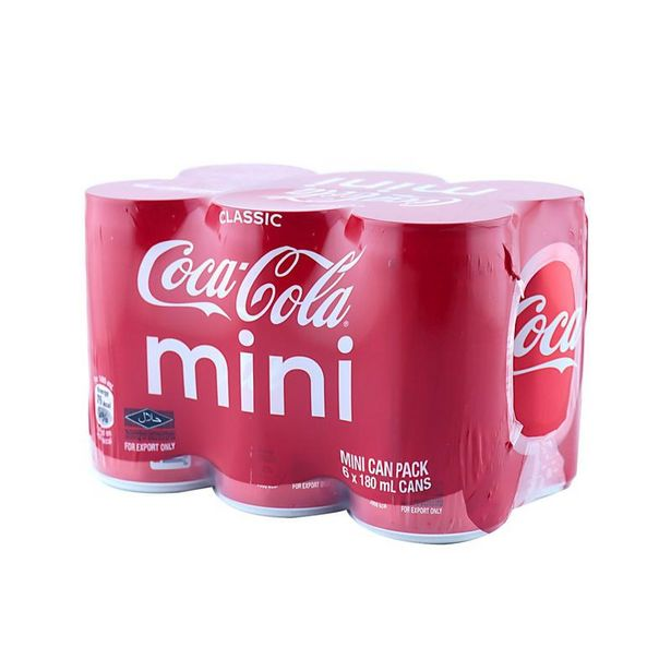 Coca-Cola™ Mini Can Pack 180ml x 6 offers at RM 12.9