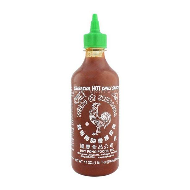 Huy Fong Foods Sriracha Hot Chili Sauce 435ml offers at RM 12.5