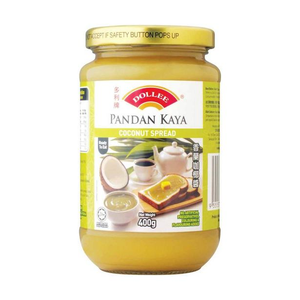 Dollee Pandan Kaya Coconut Spread 400g offers at RM 9.2