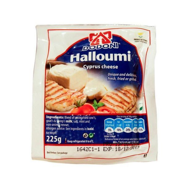 Dodoni Halloumi Cyprus Cheese 225g offers at RM 26.4