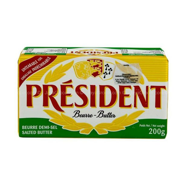 President Salted Butter 200g offers at RM 17.9