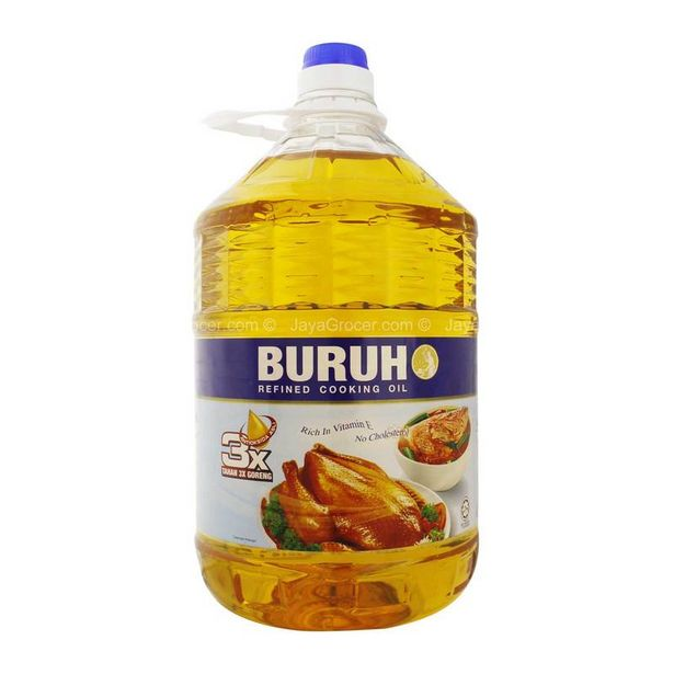 Buruh Refined Cooking Oil 5kg offers at RM 29.7