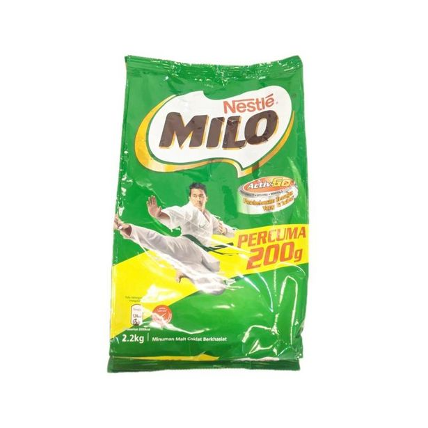 Milo Soft Pack 2kg offers at RM 37.2