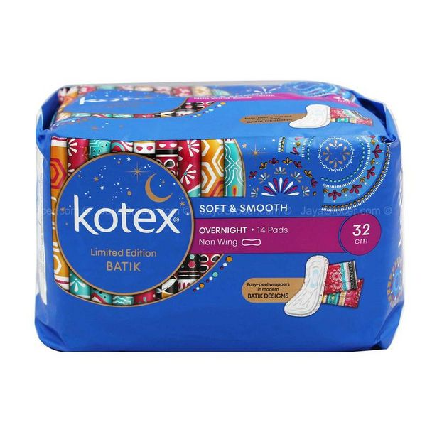 KOTEX SS O/NIGHT NON WING 32CM 14S offers at RM 5.55