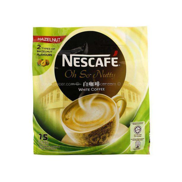 Nescafe Oh So Nutty White Coffee 36g x 15 offers at RM 14.2