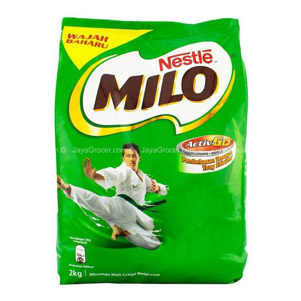 MILO (SOFTPACK) 2KG *1 SAVE offers at RM 34.4