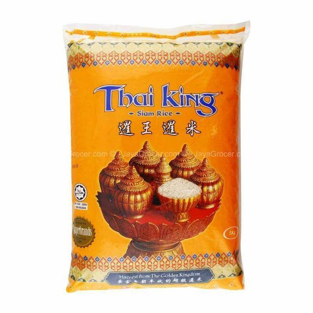 Thai King Siam Rice 5kg offers at RM 19.5