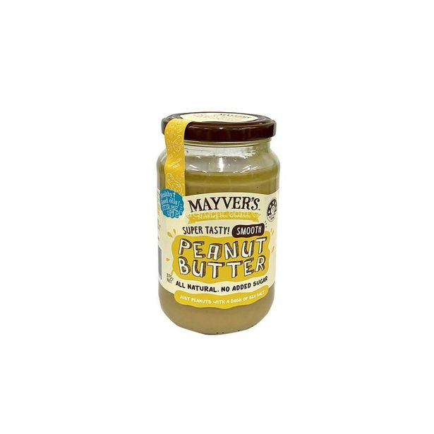 Mayver's Smooth Peanut Butter 375g offers at RM 25