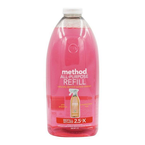 Method All-Purpose Pink Grapefruit Surface Cleaner Refill 2L offers at RM 36.8