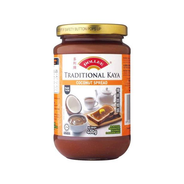 Dollee Traditional Kaya Coconut Spread 400g offers at RM 9.2