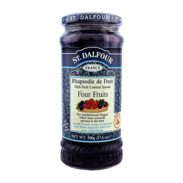 St. Dalfour Four Fruits Jam 500g offers at RM 20.5