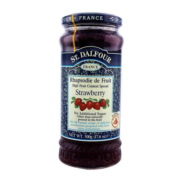 St. Dalfour Strawberry Jam 500g offers at RM 20.5